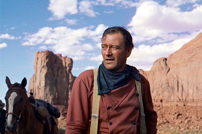 The way, Wayne revolutionized acting in The Searchers.