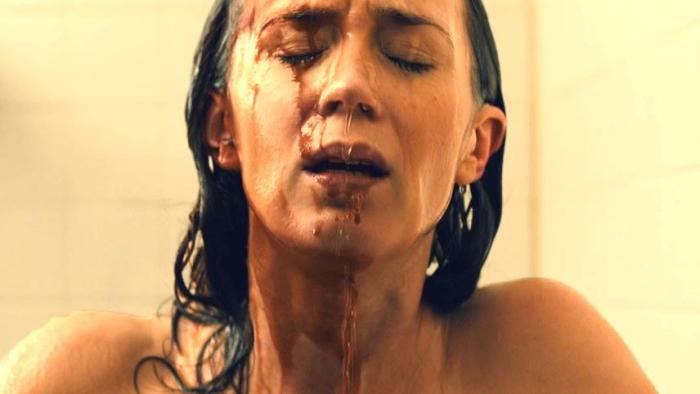 A shower won't wash away what Kate has just witnessed.